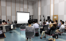 At the seminar