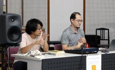 (right) Shintaro Miyazaki (left) Kazuhiro Jo